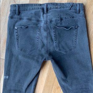 Ksubi Grey Chitch Denim jeans